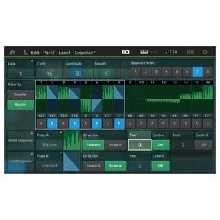 Yamaha MONTAGE 8 Synthesizer - Sequencer