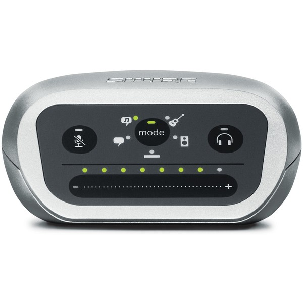 Shure MVi MOTIV Digital Audio Interface - Mac, PC, iPhone, iPod, iPad
