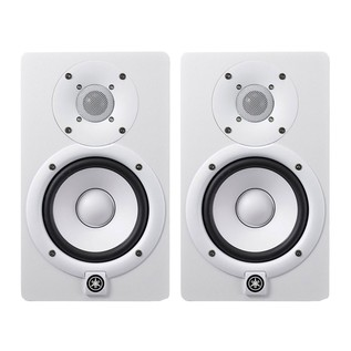 Yamaha HS5W Studio Monitors White, Includes Stands (Pair) - Pair