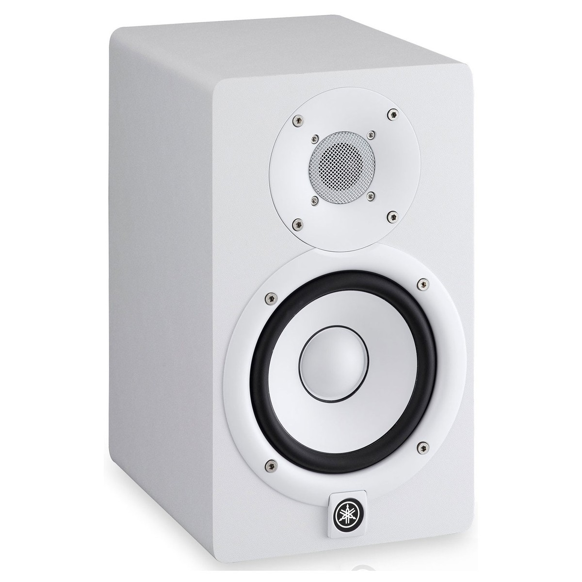 yamaha hs5w studio monitors white includes stands pair. Black Bedroom Furniture Sets. Home Design Ideas