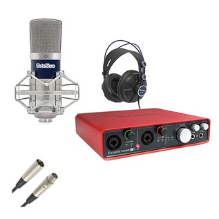 Focusrite Scarlett 6i6 Studio Bundle