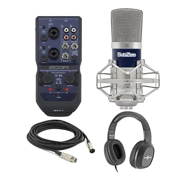 Zoom U-44 Recording Bundle