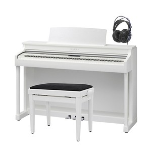 Kawai CN35 Digital Piano, Premium Satin White Package