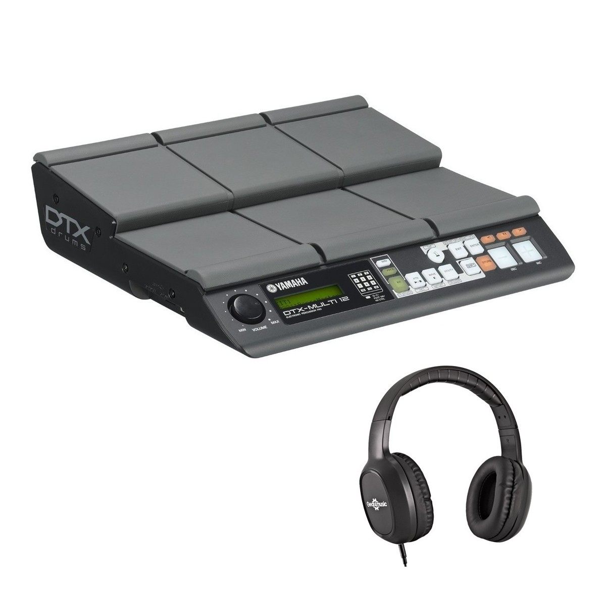 Yamaha DTX-Multi 12 Percussion Pad With Headphones