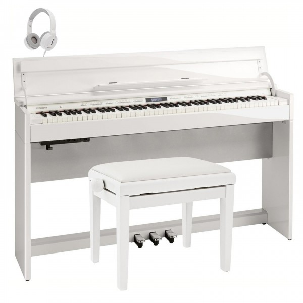 Roland DP-603SE Digital Piano Package, Polished White