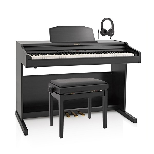 Roland RP501R Digital Piano Package, Contemporary Black