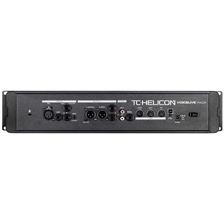 TC Helicon VoiceLive Rack Vocal Processor Rear