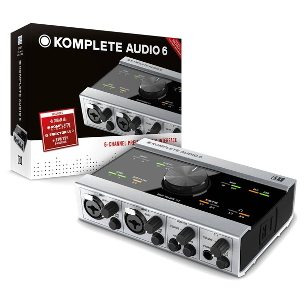Native Instruments Komplete Audio 6 USB Audio Interface - Boxed