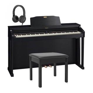 Roland HP504 Digital Piano Package, Contemporary Black