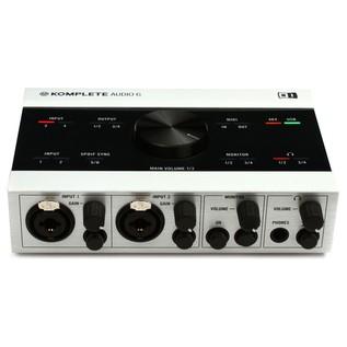 Native Instruments Komplete Audio 6 USB Audio Interface - Front Top