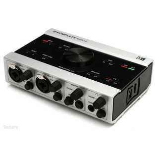 Native Instruments Komplete Audio 6 USB Audio Interface - Angled 2