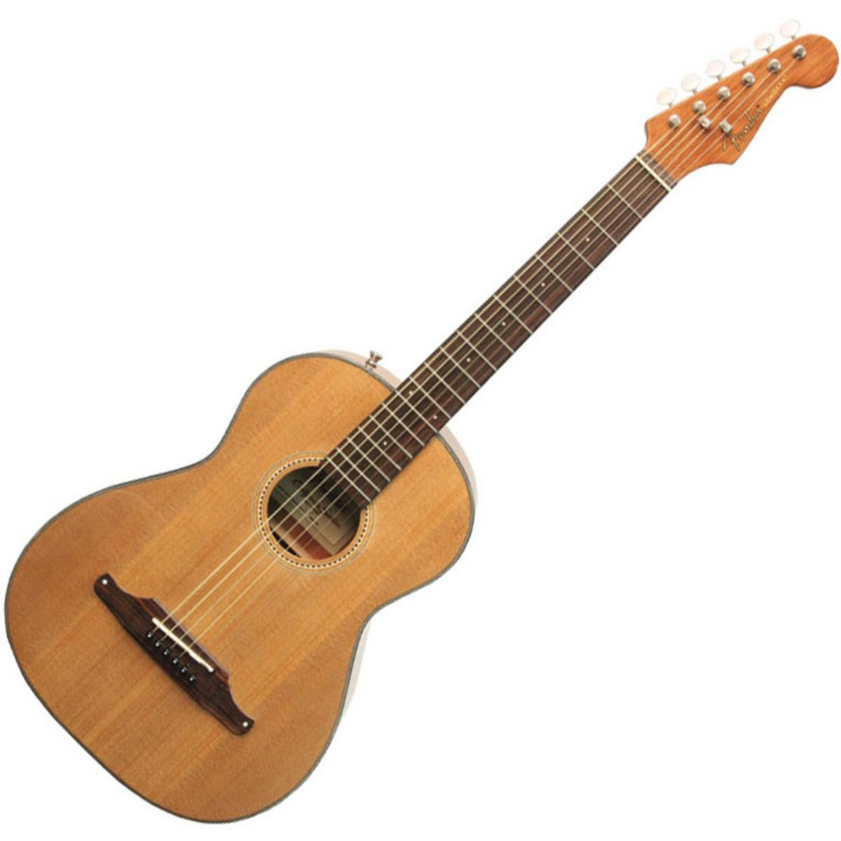 fender guitare acoustique sonoran mini 3 4 natural metallis en housse b stock. Black Bedroom Furniture Sets. Home Design Ideas
