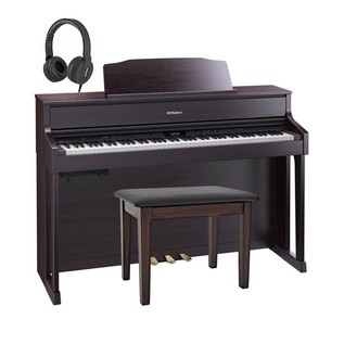 Roland HP605 Digital Piano Package, Contemporary Rosewood