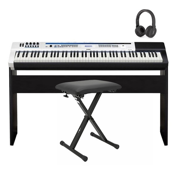 Casio Privia PX-5S Stage Piano, Wooden Frame Package