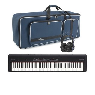 Roland FP-50 SuperNATURAL Piano with Deluxe Bag and Headphones