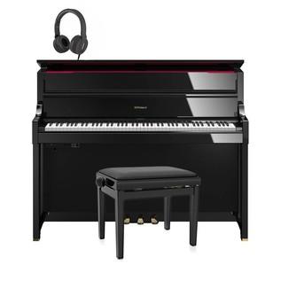 Roland LX17 Digital Piano Package, Polished Ebony