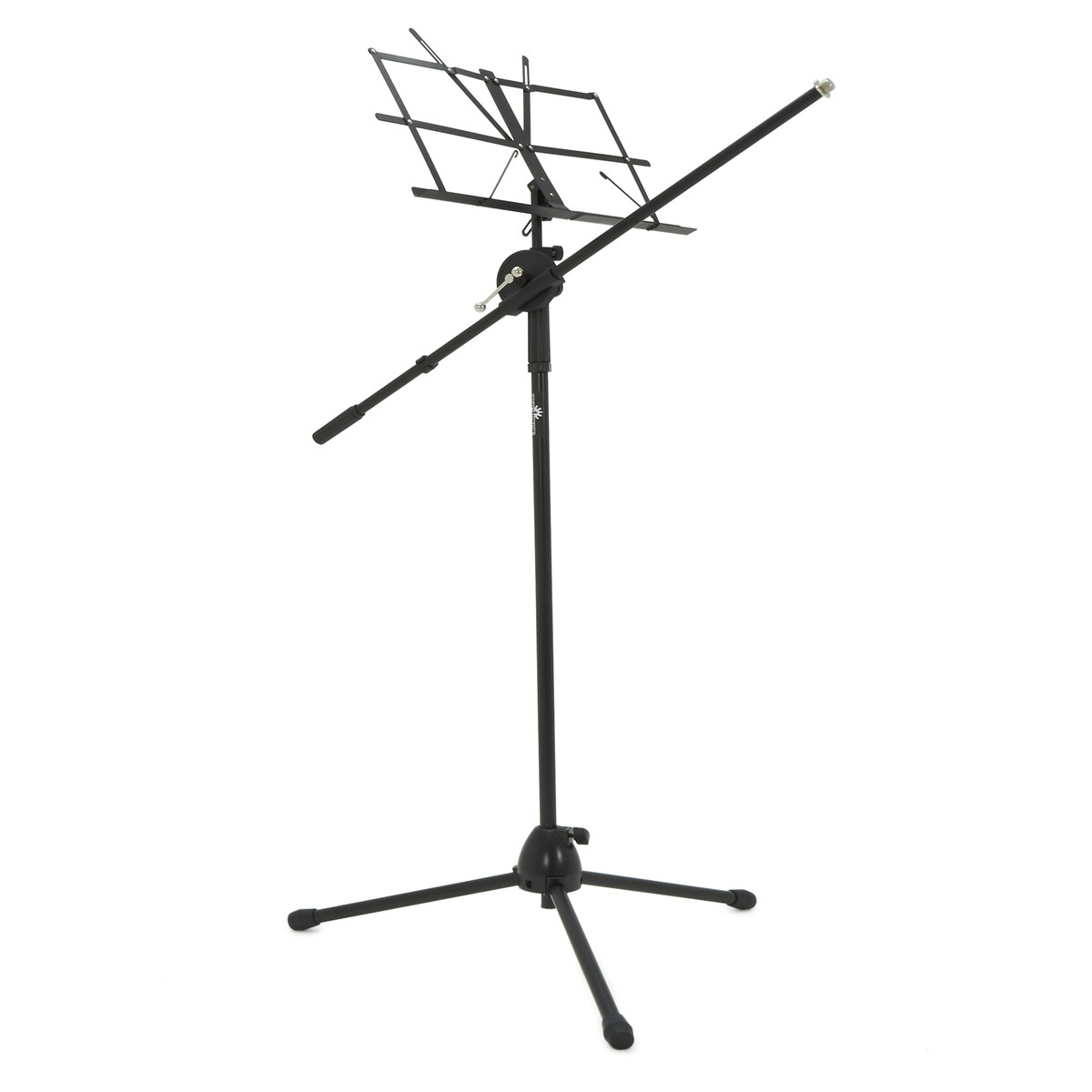 boom mic stand with music stand by gear4music
