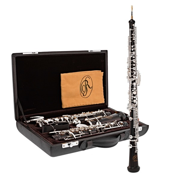 Rosedale Professional Oboe, Ebony Body, By Gear4music