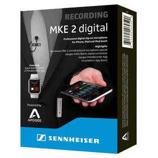 Sennheiser MKE 2 Digital Box