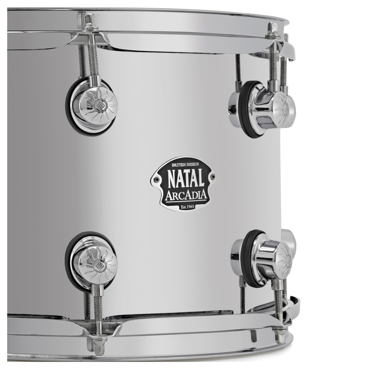 Natal Arcadia 14 x 8 Steel Snare Drum at Gear4music.com