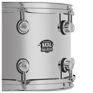 Natal Arcadia 14 x 8 Steel Snare Drum