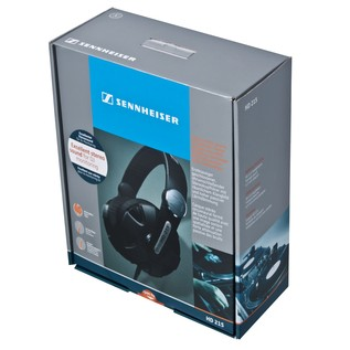 Sennheiser HD 215 II Closed DJ Headphones
