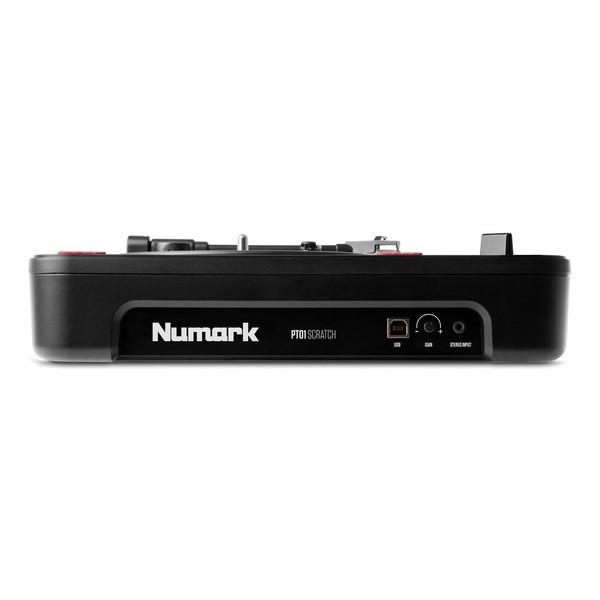 Numark PT01 Scratch Bundle - Turntable Rear