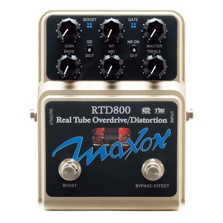 Maxon RTD800 Real Tube Overdrive/Distortion Pedal