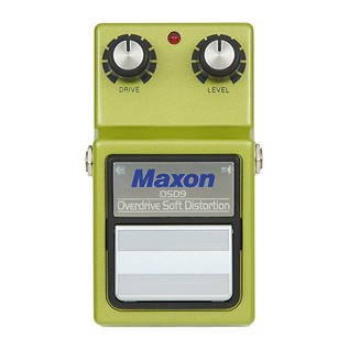 Maxon OSD-9 Overdrive/Soft Distortion Pedal