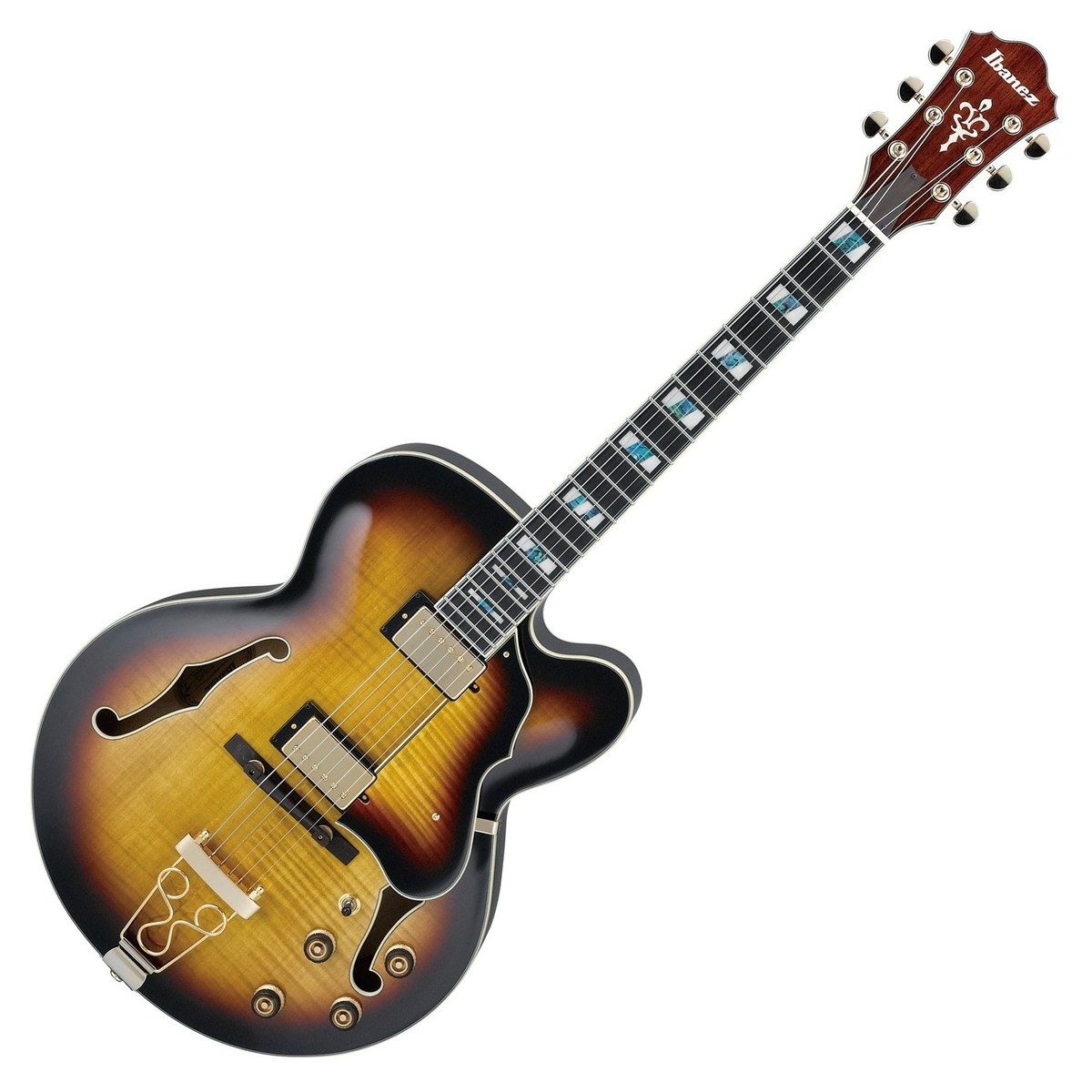 Click to view product details and reviews for Ibanez Af155 Artcore Antique Yellow Sunburst.