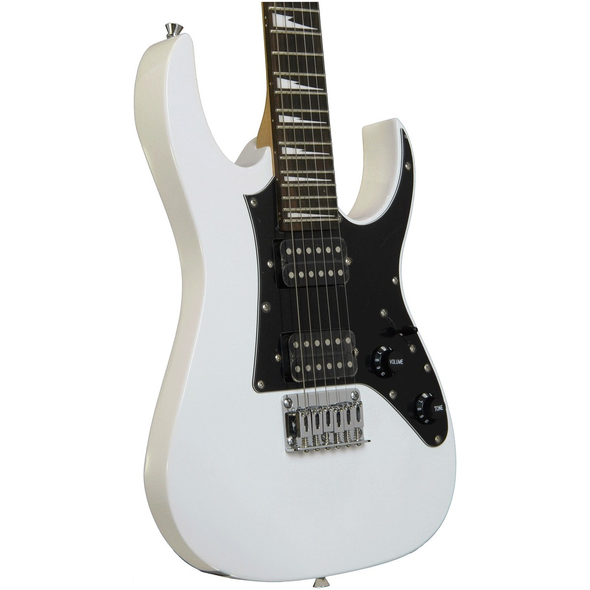 ibanez gio grgm21 mikro electric guitar white box opened at gear4music. Black Bedroom Furniture Sets. Home Design Ideas