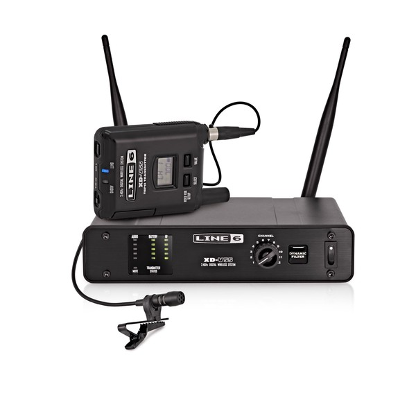 Line 6 XD-V55L Digital Wireless Lavalier Microphone System