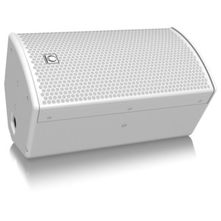 Turbosound NuQ62, White - Floor Angled
