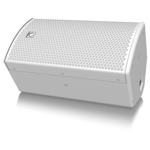 Turbosound NuQ62, White - Floor Angled 2
