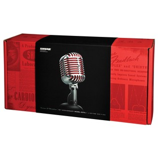Shure 5575LE Unidyne Ltd Edition 75th Anniversary Dynamic Microphone