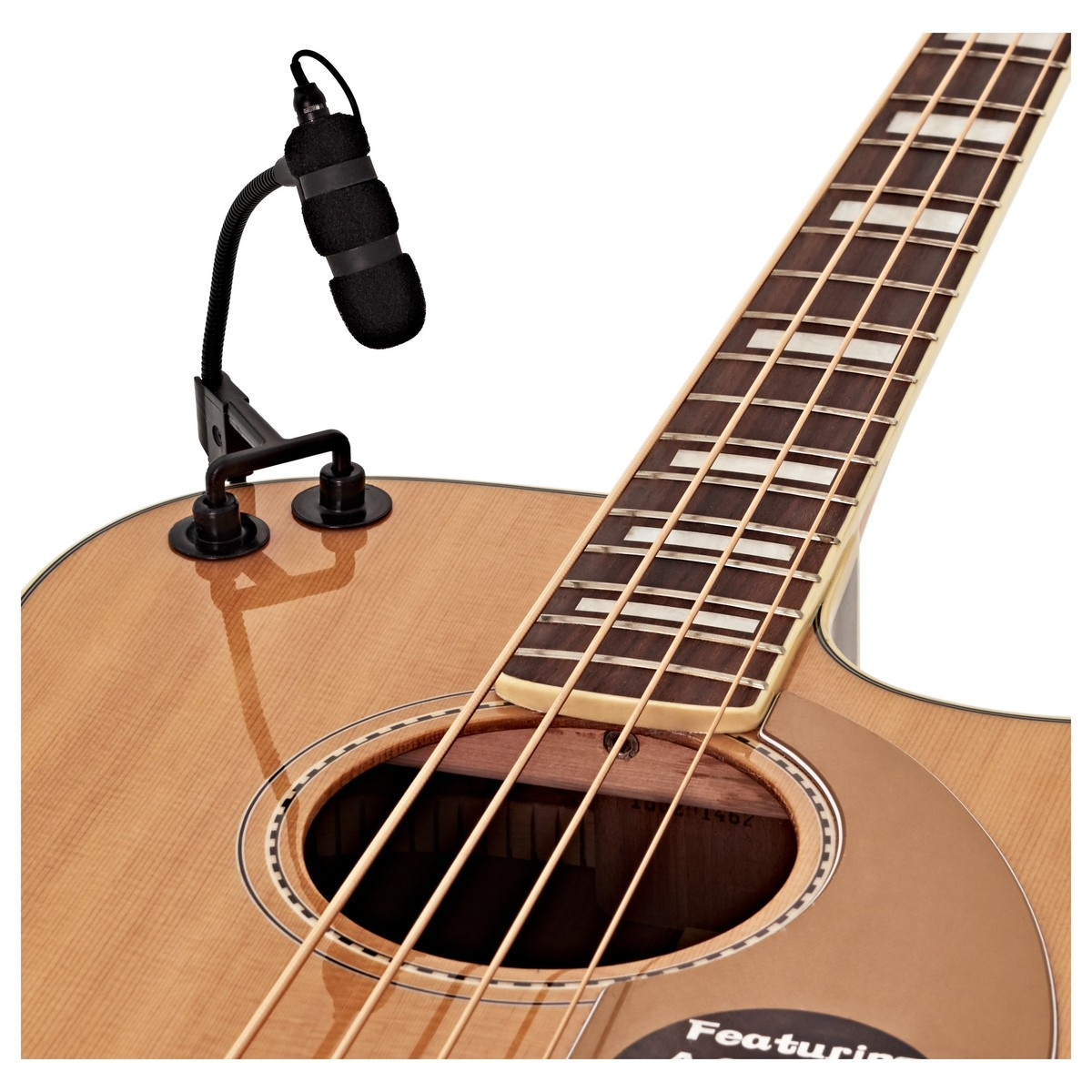 large strings clip for subzero instrument microphone at gear4music. Black Bedroom Furniture Sets. Home Design Ideas