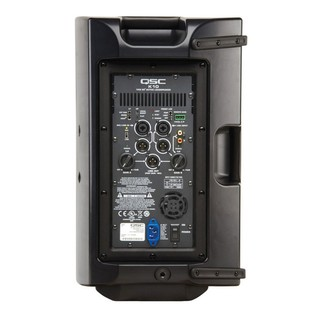 QSC K10 Active PA Speaker, Rear