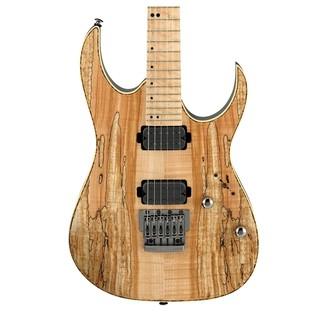 Ibanez RG721MSM Premium Electric Guitar, Natural Flat Close View