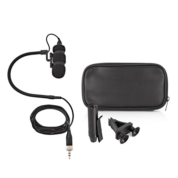 SubZero SubZero Clip On Instrument Microphone + Suction Pad Clip