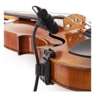 SubZero SubZero Clip On Instrument Microphone + Violin Clip