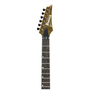 Ibanez RG950WFMZ Premium Electric Guitar, Tiger Eye Neck View