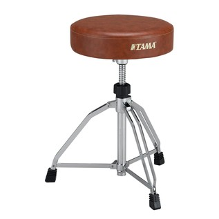 Tama HT65WNBR Roadpro Drum Throne with Vintage Brown Seat