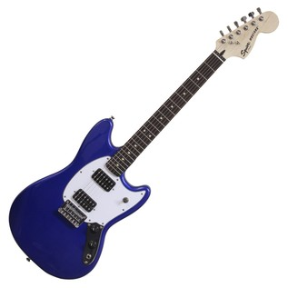 Squier Bullet Mustang HH Electric Guitar, Imperial Blue
