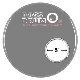 Bass Drum O Sound Hole Ring Brass 5