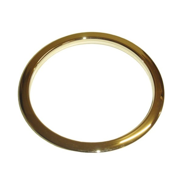"""Bass Drum O's Sound Hole Ring Brass 5"""""""