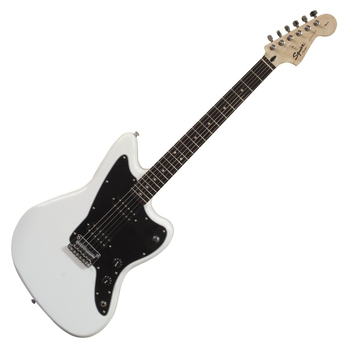 squier by fender affinity jazzmaster hh electric guitar arctic white at gear4music. Black Bedroom Furniture Sets. Home Design Ideas