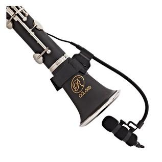 SubZero Clip On Instrument Condenser Microphone + Woodwind Strap
