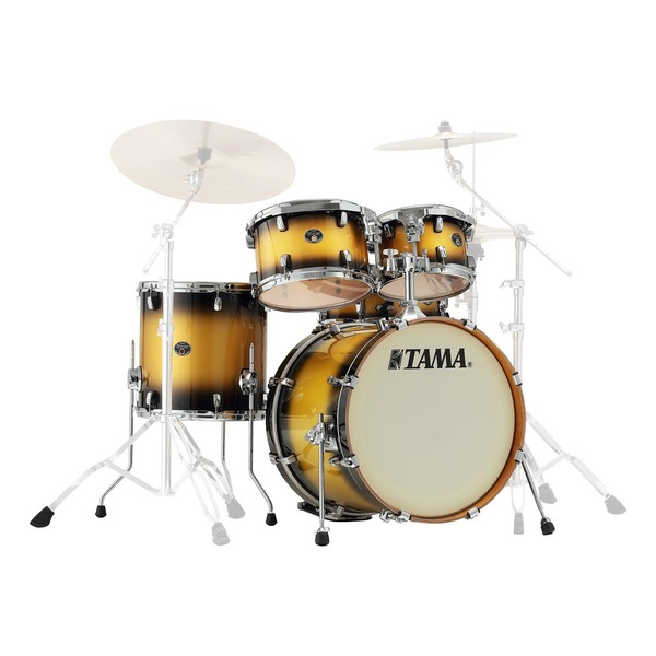 "Tama Silverstar 20"" 5pc Shell Pack, Vintage Gold Duco"