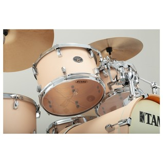 Tama Silverstar Shell Pack Copper Sparkle tom from below