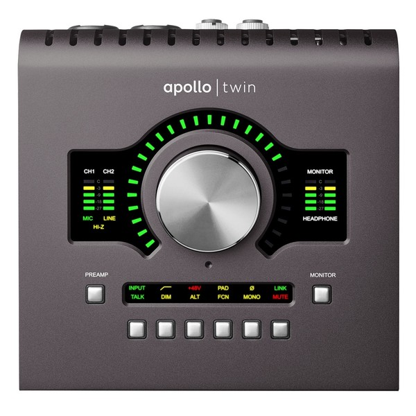Apollo Twin Duo MKII - Top